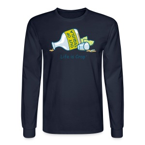 Out of Tequila - Mens Long Sleve Tee - Men's Long Sleeve T-Shirt