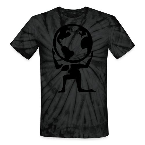 Worlds a Burden- TheWorldisYours - Unisex Tie Dye T-Shirt