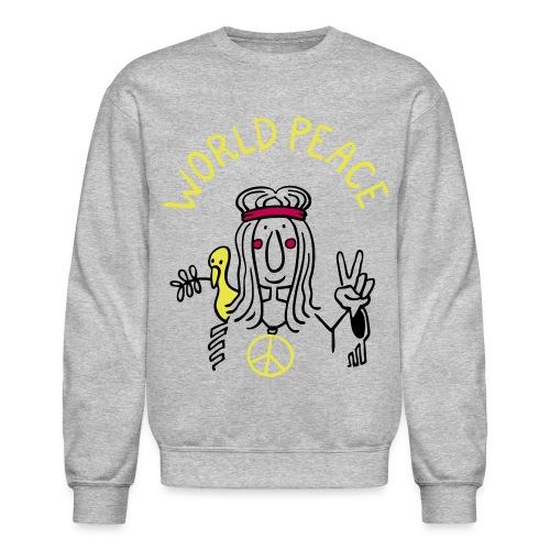World Peace-TheWorldisYours - Crewneck Sweatshirt