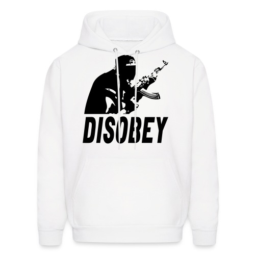 Disobey-TheWorldisYours - Men's Hoodie