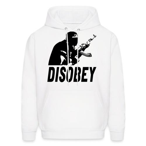 Disobey-TheWorldisYours - Men's Hoodie