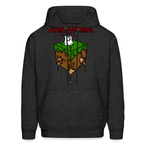 Dirt-Block by: Aghast-Apparel (Any Color) - Men's Hoodie