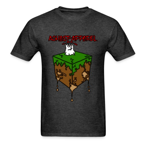 Dirt-Block by: Aghast-Apparel (Any Color) - Men's T-Shirt
