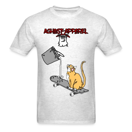 Skate-Cat by: Aghast-Apparel (Any Color) - Men's T-Shirt