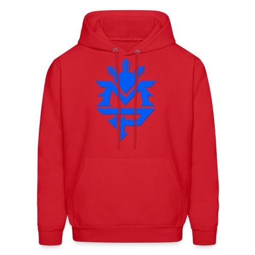 Red and Blue - Men's Hoodie