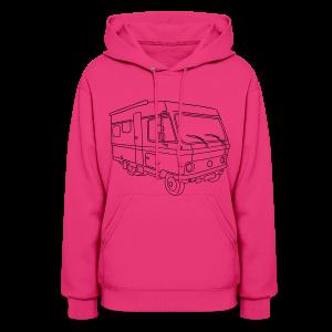 Caravan (mobile home) - Women's Hoodie