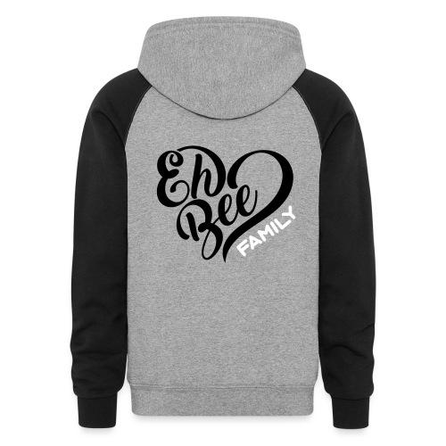 EhBeeFamily Logo SVG - Colorblock Hoodie