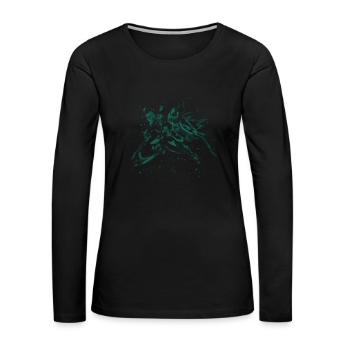 GDM Flying - Women's Premium Long Sleeve T-Shirt - Women's Premium Long Sleeve T-Shirt