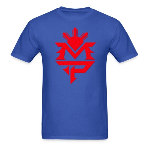 MP Blue and Red - Men's T-Shirt