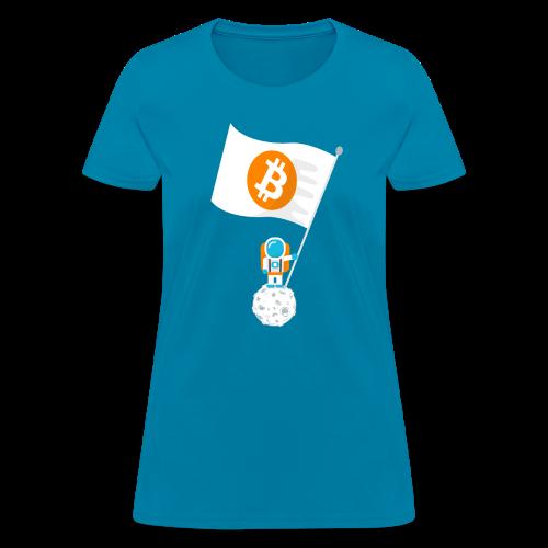 Claim the Moon! - Women's T-Shirt