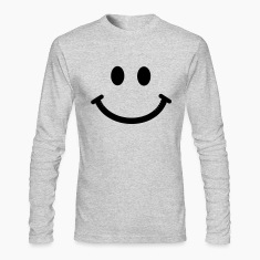 Happy Smiley Face Long Sleeve Shirts