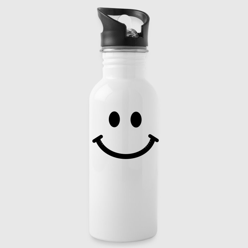 Happy Smiley Face Accessories - Water Bottle