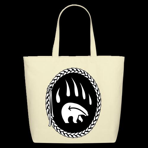 Tribal Bear Art Tote Bag - Shopping Bags - Eco-Friendly Cotton Tote