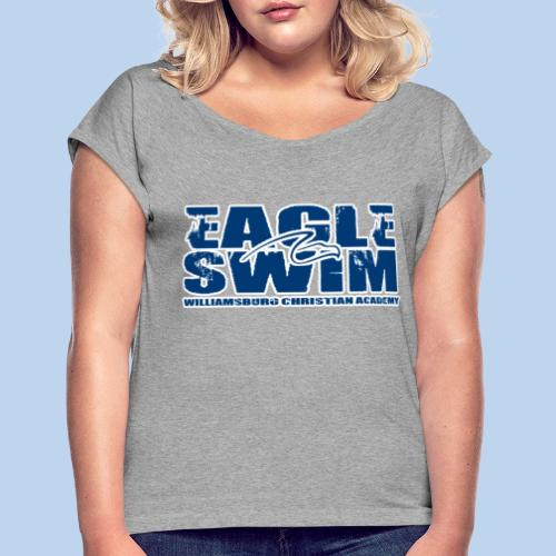 Eagle Swim Flowy Tee - Women's Roll Cuff T-Shirt