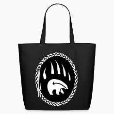 First Nations Art Tote Bag Shopping Bag