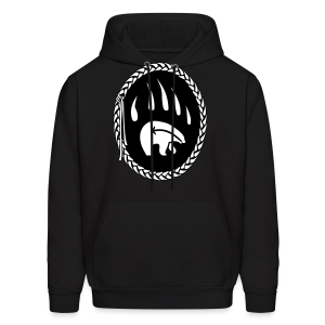 Tribal Bear Claw  Hoodie First Nations Sweatshirt - Men's Hoodie