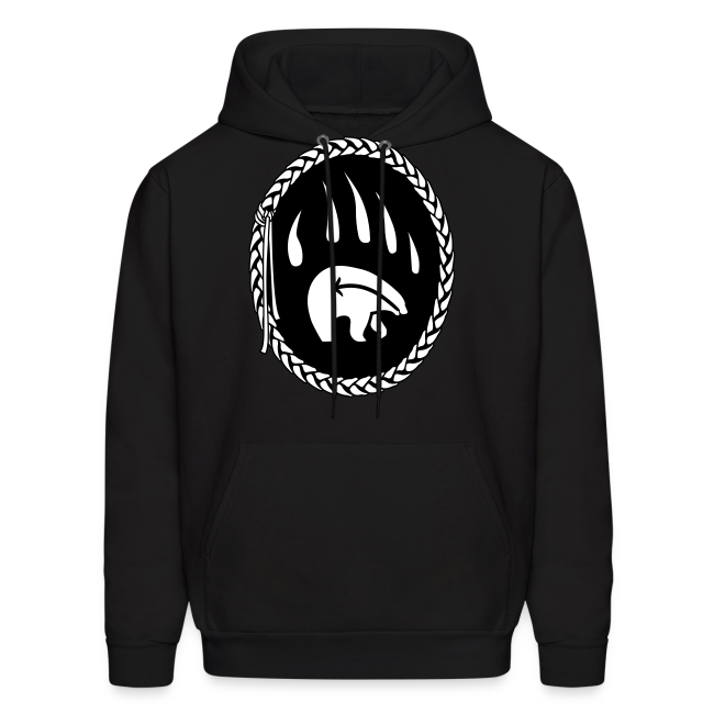 Tribal Bear Claw  Hoodie First Nations Sweatshirt