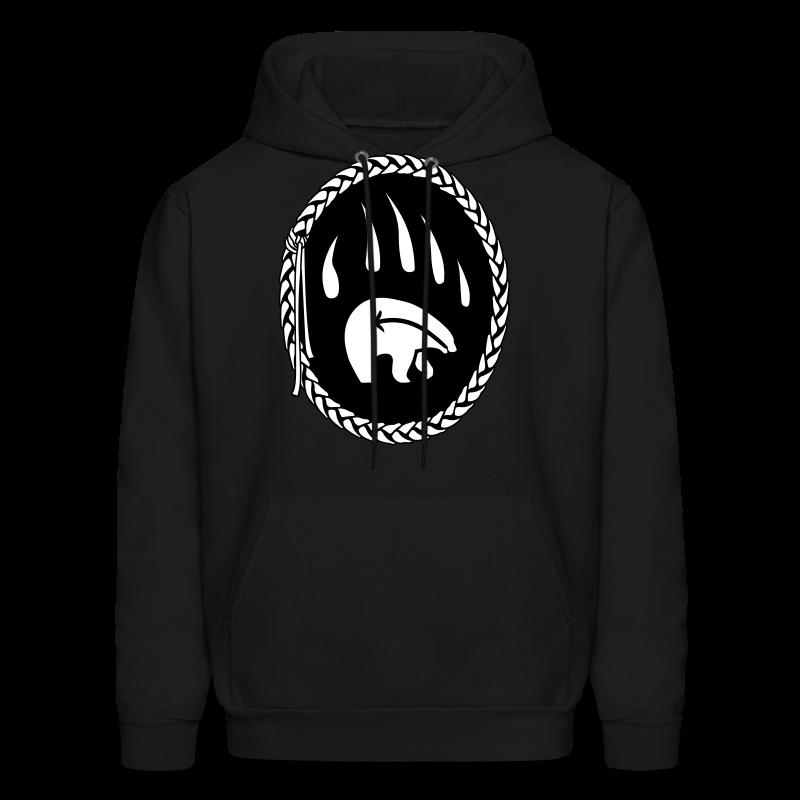 Tribal Bear Claw  Hoodie First Nations Sweatshirt - Men's Hoodie
