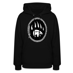 First Nations Bear Hoodie Tribal Art Womens Sweatshirt - Women's Hoodie