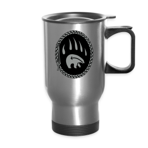 Tribal Bear Claw Travel Mugs First Nations Art - Travel Mug