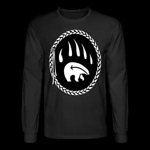 Tribal Bear Shirt Men's Long Sleeve Shirt - Men's Long Sleeve T-Shirt