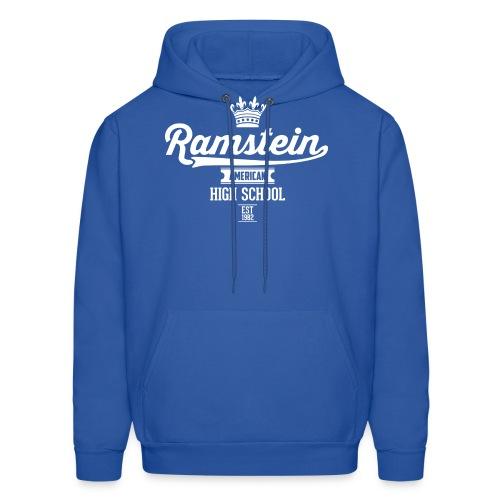 Ramstein Est Retro Hoodie - Royal Blue - Men's Hoodie