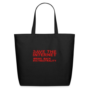 * Save The Internet *  - Eco-Friendly Cotton Tote