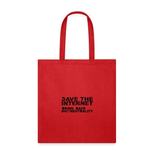 * Save The Internet *  - Tote Bag