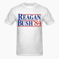 Reagan Bush '84 T-Shirts