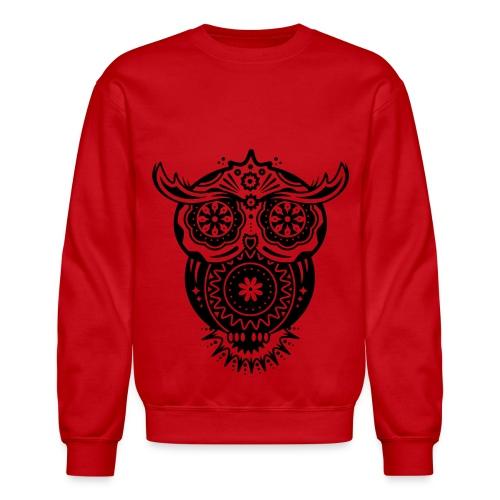 Sugar Owl - Crewneck Sweatshirt
