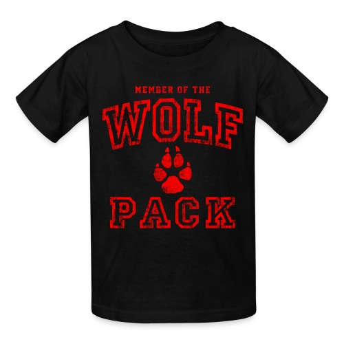 Wolf Pack Shirt - Kids' T-Shirt