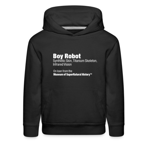 MuSuNaHI® Boy Robot Hoodie  - Kids' Premium Hoodie