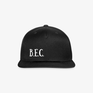 B.E.C. Hat - Snap-back Baseball Cap