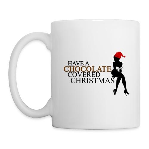 Chocolate Covered Christmas Mug - Coffee/Tea Mug