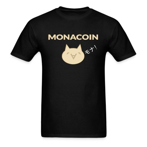 Monacoin - Men's T-Shirt
