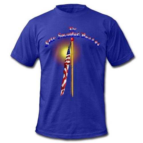 The Star Spangled Banner - Men's Fine Jersey T-Shirt