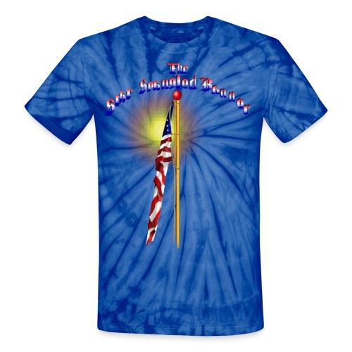 The Star Spangled Banner - Unisex Tie Dye T-Shirt