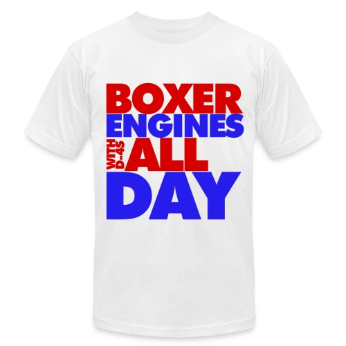 Boxer Engines All Day Men - Men's T-Shirt by American Apparel