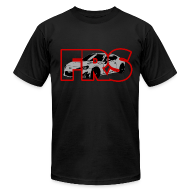 T-Shirts ~ Men's T-Shirt by American Apparel ~ Scion FRS Stamped American Apparel