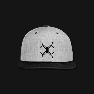 QUAD HAT2 BL/GR - Snap-back Baseball Cap