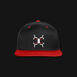 QUAD HAT2 BL/RED - Snap-back Baseball Cap