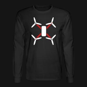 QUAD SLEEVES BLACK - Men's Long Sleeve T-Shirt