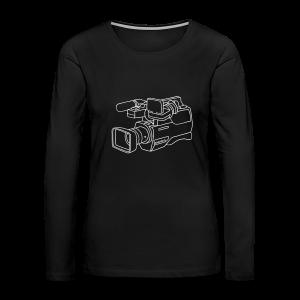video camera - Women's Premium Long Sleeve T-Shirt