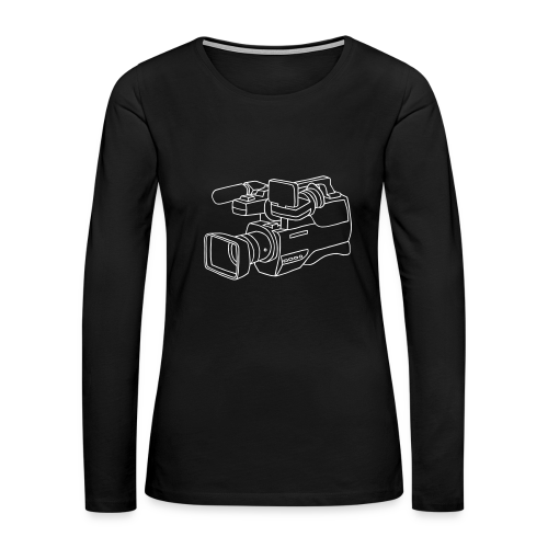 video camera - Women's Premium Long Sleeve T-Shirt
