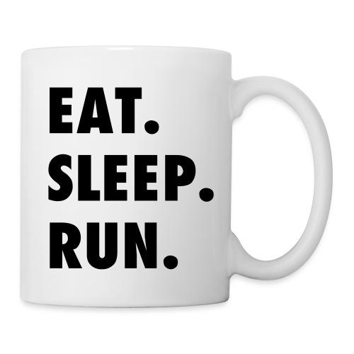 EAT SLEEP RUN MUG - Coffee/Tea Mug