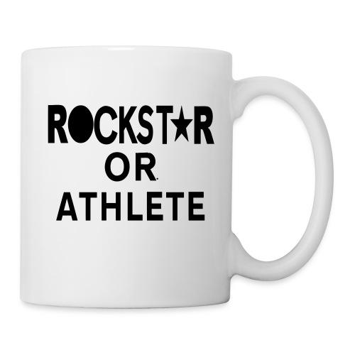 ROCKSTAR OR ATHLETE - Coffee/Tea Mug