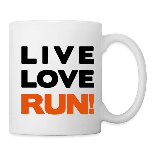 LIVE LOVE RUN MUG - Coffee/Tea Mug