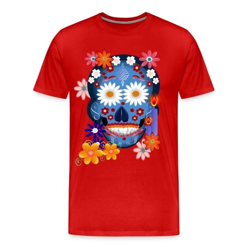 DarkSkull-Day Of The Dead. - Men's Premium T-Shirt