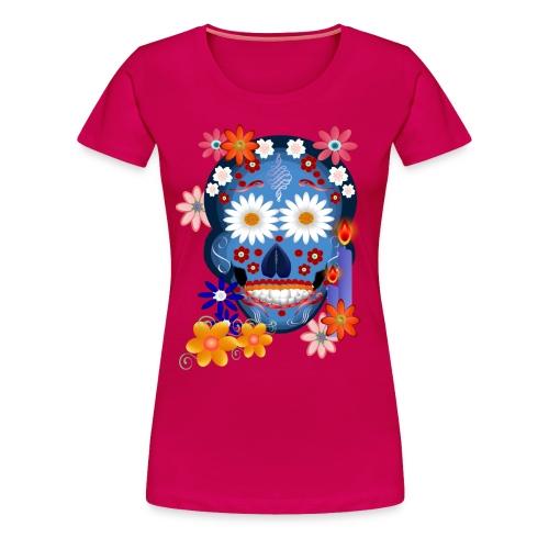DarkSkull-Day Of The Dead. - Women's Premium T-Shirt