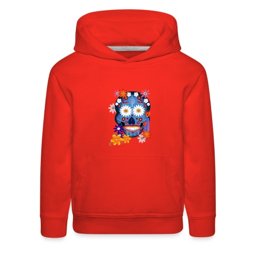 DarkSkull-Day Of The Dead. - Kids' Premium Hoodie